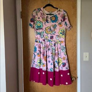 Lularoe Amelia Dress NWOT